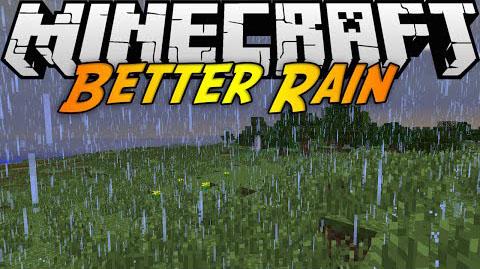 better rain minecraft mod