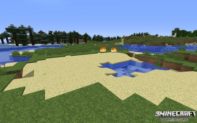 better sand minecraft mod