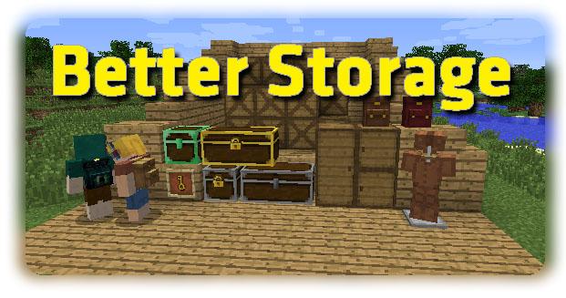 better storage minecraft mod