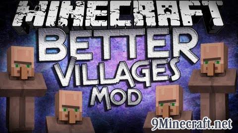better villages minecraft mod