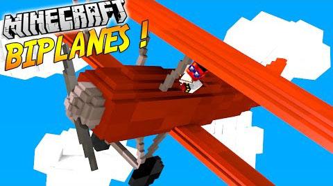 biplanes minecraft mod