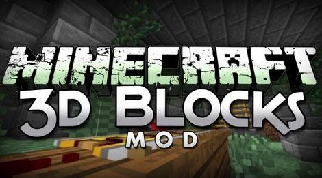 blocks 3d minecraft mod