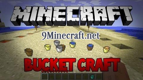 bucket craft minecraft mod