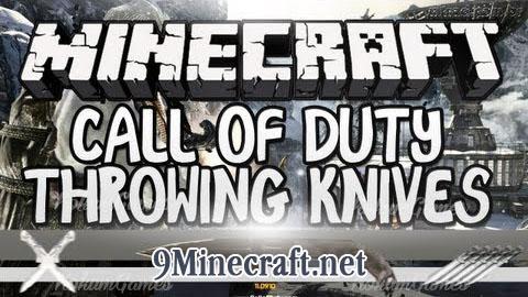 call of duty knives minecraft mod
