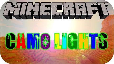 camo lights minecraft mod