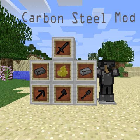 carbon steel minecraft mod