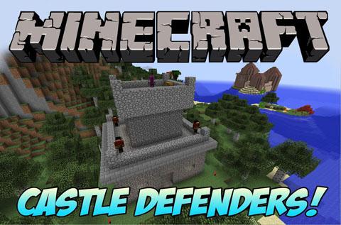 castle defender minecraft mod