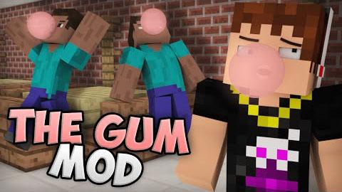 chewing gum minecraft mod
