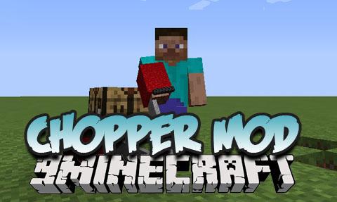 chopper minecraft mod
