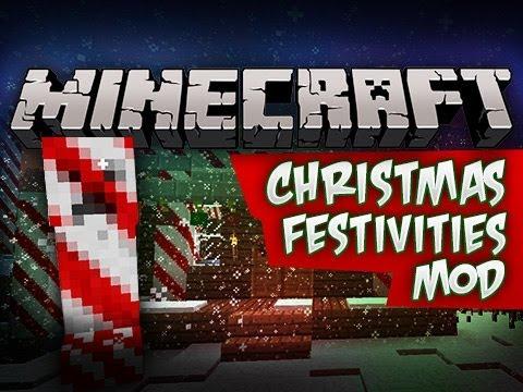 christmas festivities minecraft mod