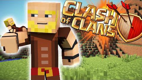 clash of clans by voidswrath minecraft mod