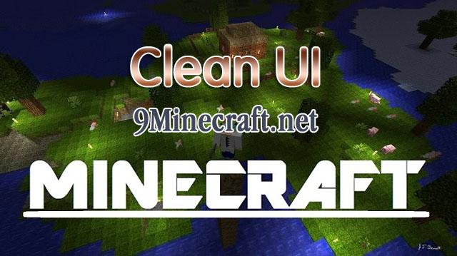 clean ui minecraft mod