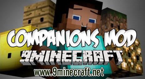 companions minecraft mod