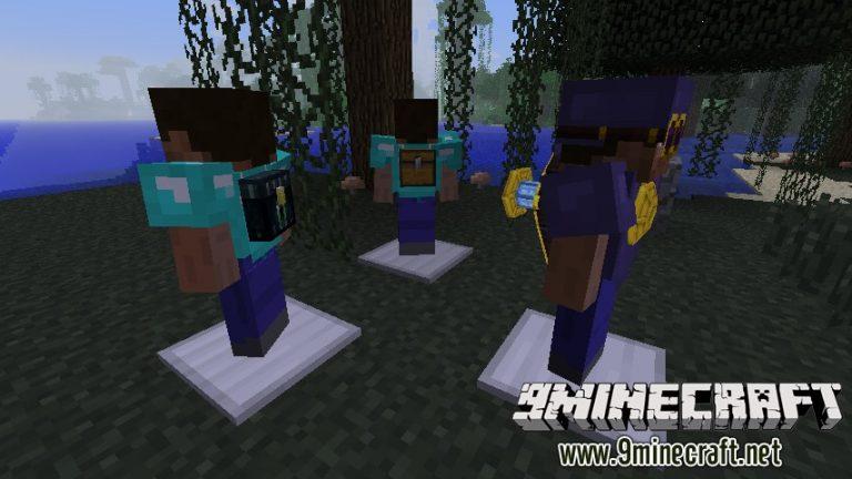 component equipment minecraft mod