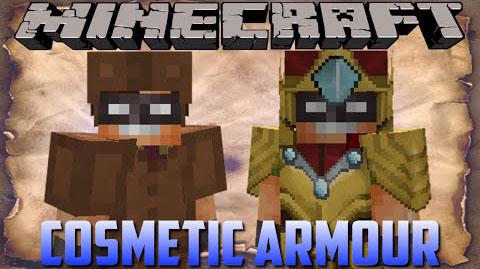 cosmetic armor minecraft mod