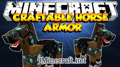 craftable horse armor minecraft mod