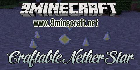 craftable nether star minecraft mod