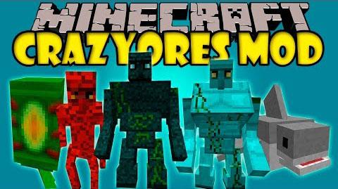 crazy ores minecraft mod