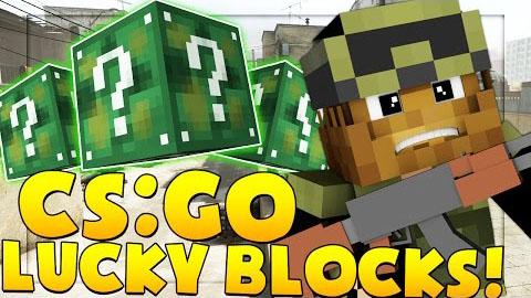 csgo lucky block minecraft mod
