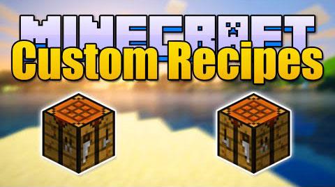 custom recipes minecraft mod