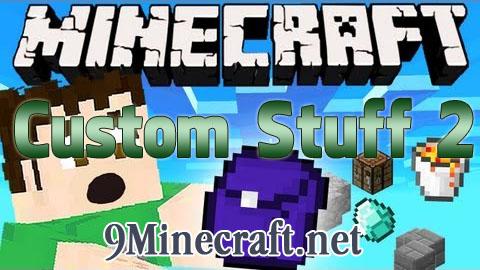 custom stuff 2 minecraft mod