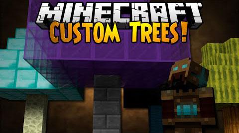 custom trees minecraft mod