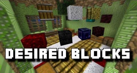 desired blocks minecraft mod