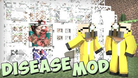 diseasecraft minecraft mod