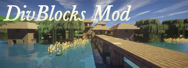 divblocks minecraft mod