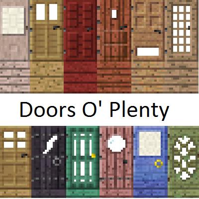 doors o plenty minecraft mod