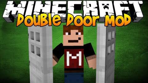 double doors by derbam minecraft mod