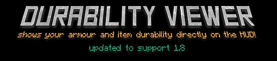 durability viewer minecraft mod