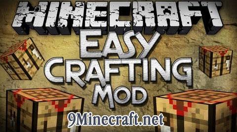 easy crafting minecraft mod