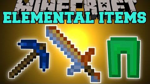 elemental items minecraft mod
