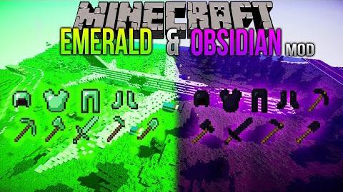 emerald obsidian minecraft mod