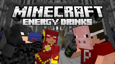 energy drinks by kimeriderf minecraft mod