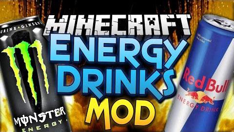 energy drinks minecraft mod