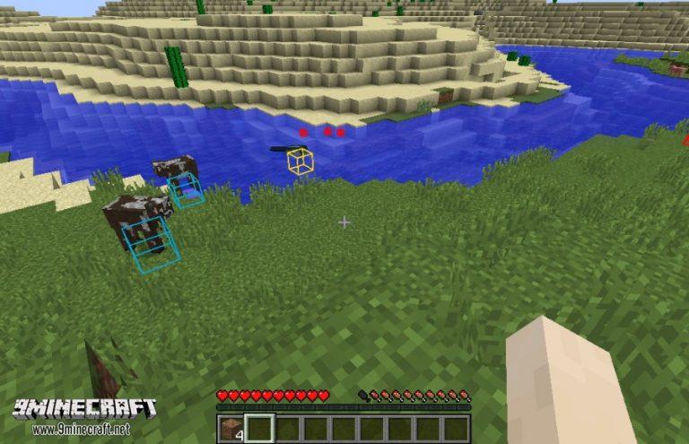 entity explorer minecraft mod