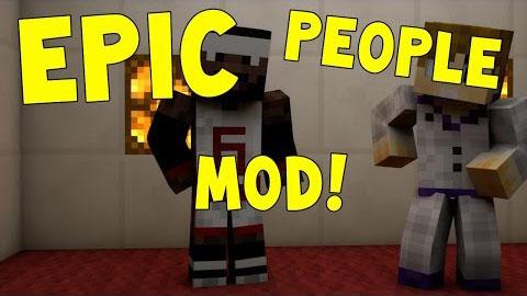 epic people minecraft mod