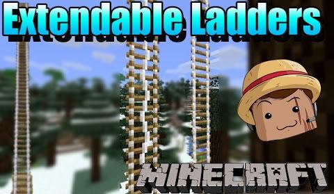 extendable ladders minecraft mod