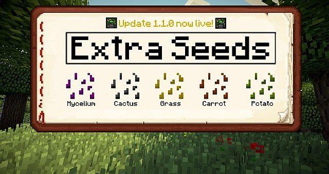 extra seeds minecraft mod