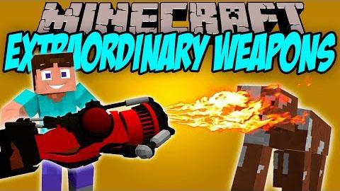 extraordinary weapons minecraft mod