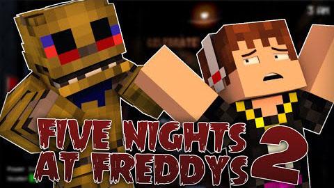 five nights at freddys 2 minecraft mod