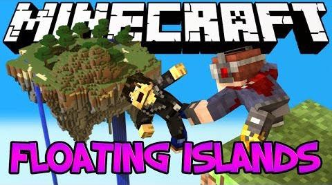 floating islands minecraft mod
