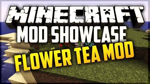 flower tea minecraft mod