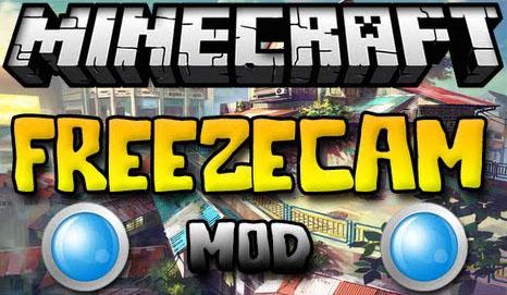 freezecam minecraft mod
