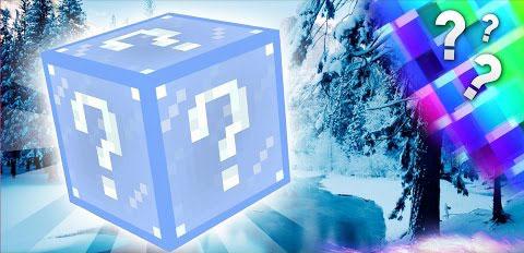 frosty lucky block minecraft mod
