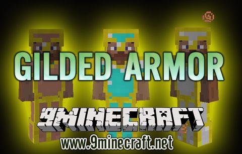 gilded armor minecraft mod