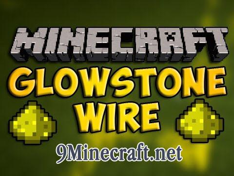 glowstone wire minecraft mod