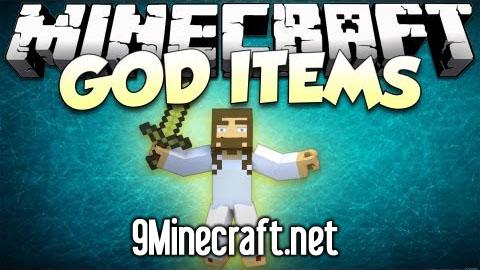 gods sacred items minecraft mod